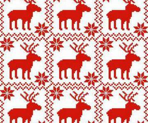 red and reindeer image