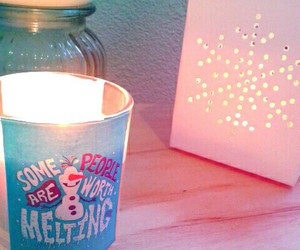 candles, frozen, and sweet image