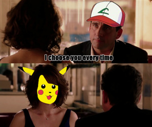 :D, pikachu, and reference image