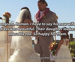 wwe, wwe couples, and roman reigns image