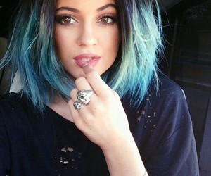 american, hair, and blue image