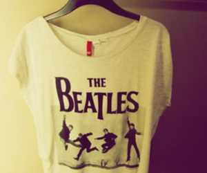 H&M, t-shirt, and the beatles image