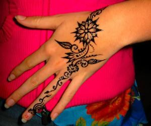 awesome, beautiful, and henna image