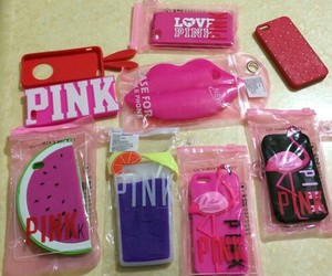 pink, cool, and case image
