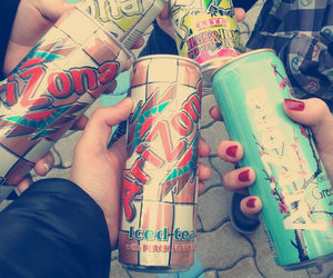 best friends, arizona iced tea, and drink image