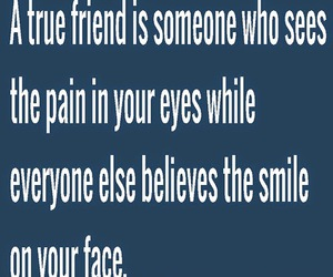 friendship, pain, and quotes image