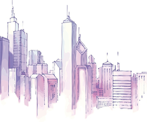 city, art, and background image