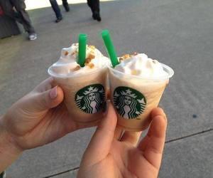 starbucks, mini, and coffee image