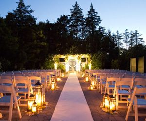 bridal, couple, and lights image