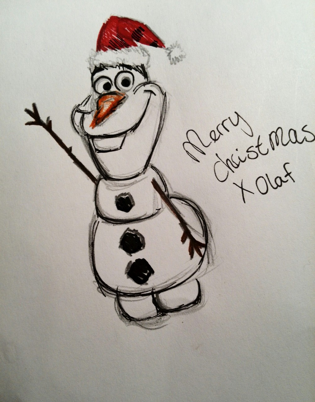 Merry christmas~Olaf ~frozen discovered by ☆ shining star ☆
