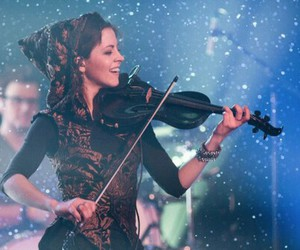 violin, lindsey stirling, and music image