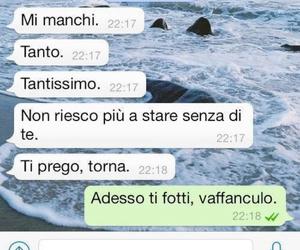 frasi italiane, chat, and manchi image