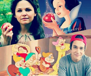 disney, edit, and once upon a time image