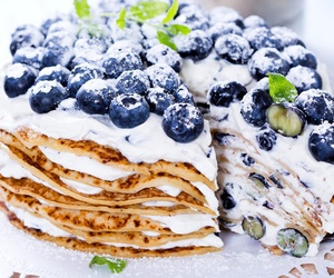 cake, food, and pancakes image