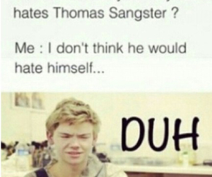duh and thomas brodie-sangster image
