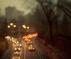 light, city, and car image