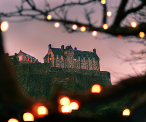 light, castle, and photography image