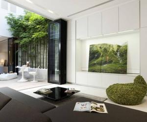 design, interior, and sitting room image