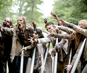 zombie, the walking dead, and twd image