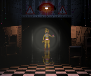 Chica, five nights at freddy's, and fnaf image