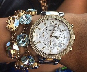 watch, fashion, and Michael Kors image