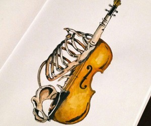 violin, music, and art image
