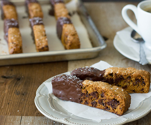 biscotti, caramel, and Cookies image