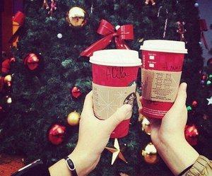 coffee and christmas image