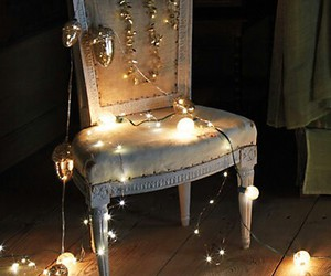 holidays, pretty, and chair image