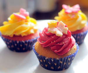 candy, cupcake, and delicious image
