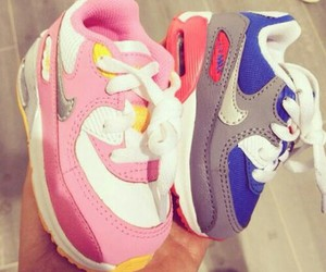 shoes, baby, and nike image
