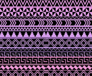 wallpaper and aztec image