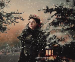 christmas, snow, and ouat image