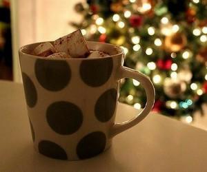 winter, christmas, and hot chocolate image