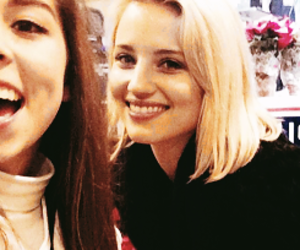 dianna and dianna agron image