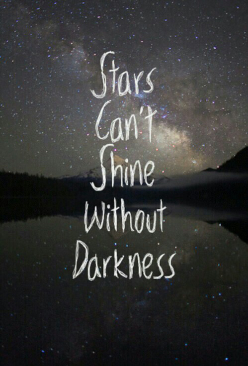 stars, Darkness, and quotes image
