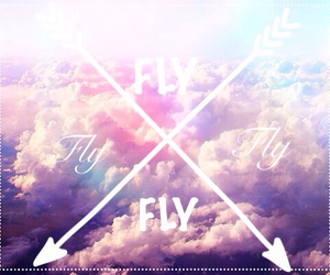 beautiful, Dream, and fly image