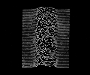 joy division, unknown pleasures, and black and white image