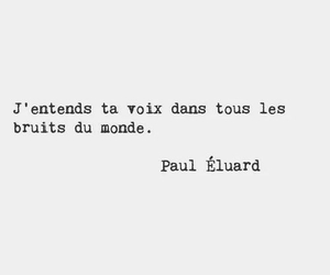 quotes, french, and voice image