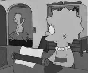 bart, simpsons, and lisa image