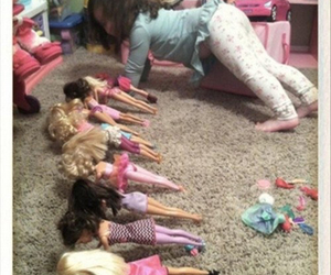 barbie, girl, and funny image