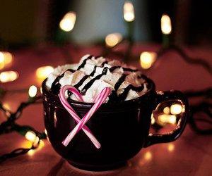 christmas, light, and chocolate image
