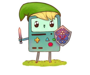 adventure time and beemo image