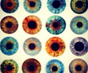 blue, eyes, and fashion image