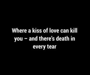 black and white and Lyrics image