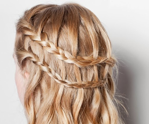 beautiful, beauty, and braid image