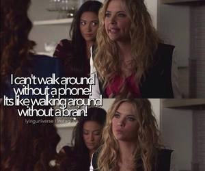 funny, ashley benson, and pretty little liars image