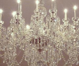 chandelier and vintage image