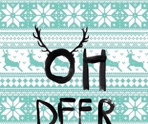 christmas and deer image