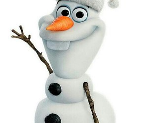 frozen, olaf, and christmas image